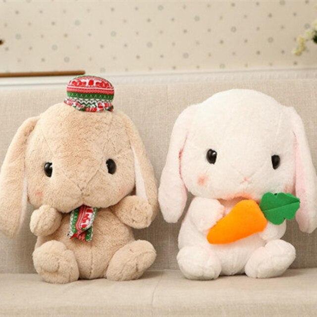Kawaii Japanese AMUSE Pote Usa Loppy Soft Plush Toy Doll 40cm Anime Peluche Rabbit Dolls for Baby Kids Gift Soft Sofa Cushion