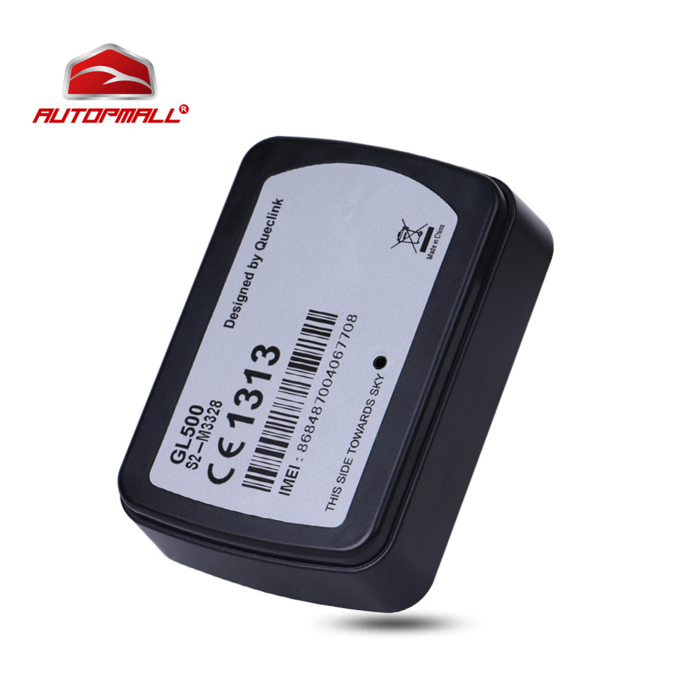 GPS Tracker Car GL500 GPS Vehicle Tracking 1800 Days Standby Time Support Removal Alert User Serviceable CR123A Battery Pack