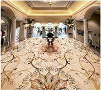 Foto papel de parede mural arte piso de azulejos piso em parquet pedra 3d murais de parede papel de parede piso pvc piso impermeável