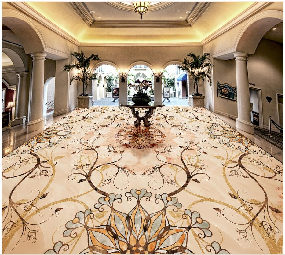 Marble Floor Mural : Online get cheap stone wall tile aliexpress alibaba