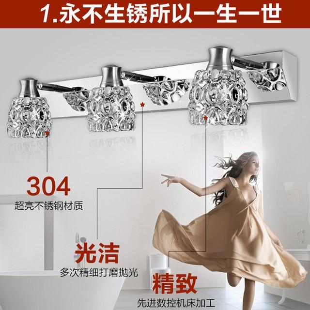 Online Shop led mirror lights bathroom bathroom wall lamp cabinet ...
