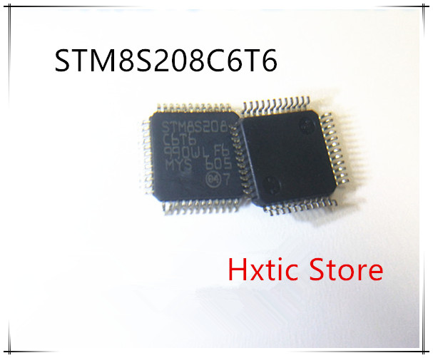 10PCS/LOT STM8S208C6T6 STM8S208 C6T6  IC