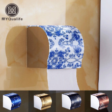 Multi-color Wall Mount Waterproof Toilet Paper Holder Stainless Steel Bathroom Tissure Paper Box