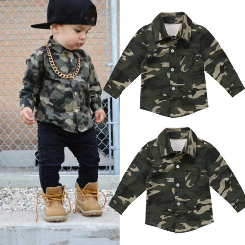 Toddler Boys Kids Camouflage Realtree Camo Boys Sweatshirt Sweatpants Set