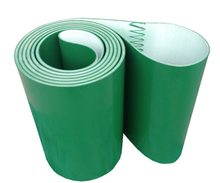 (Customized Size Please Contact) 1500x200x3mm PVC Green Transmission Conveyor Belt Industrial Belt(China)