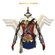 Deluxe Wonder Woman Costume Christmas Halloween Costumes For Women Fantasia Adult Disguise Cosplay Clothing