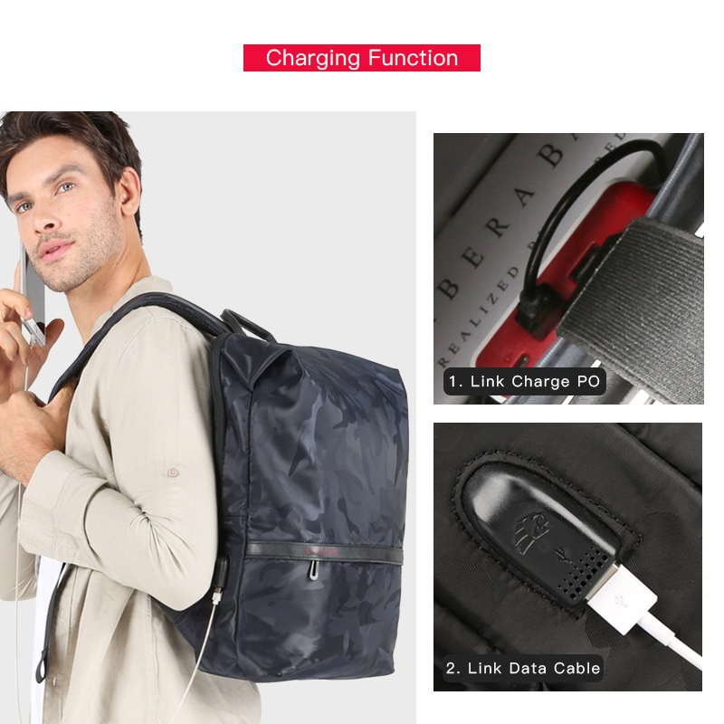 KINGSONS Large Capacity Rucksack 3