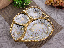 Leaf Shaped Ceramic Dishes