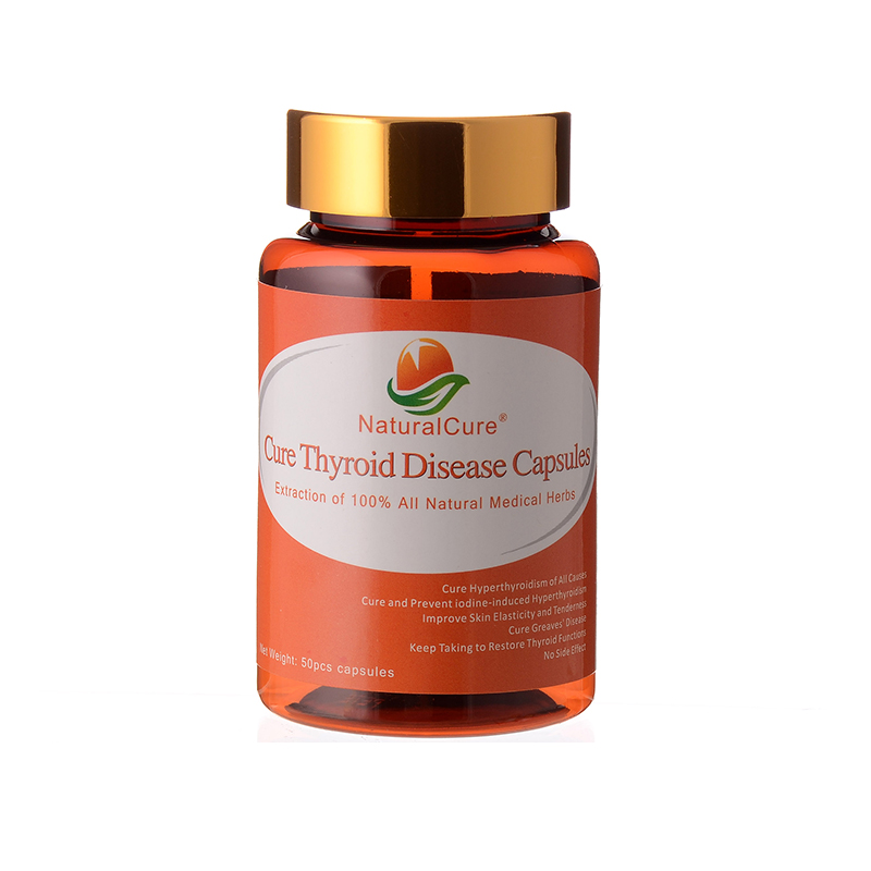 NaturalCure Cure Thyroid Diseases Caps-ules, Cure Thyroid Swelling, Balance Thyroid Hormone Secretion, Organic Plants Extract