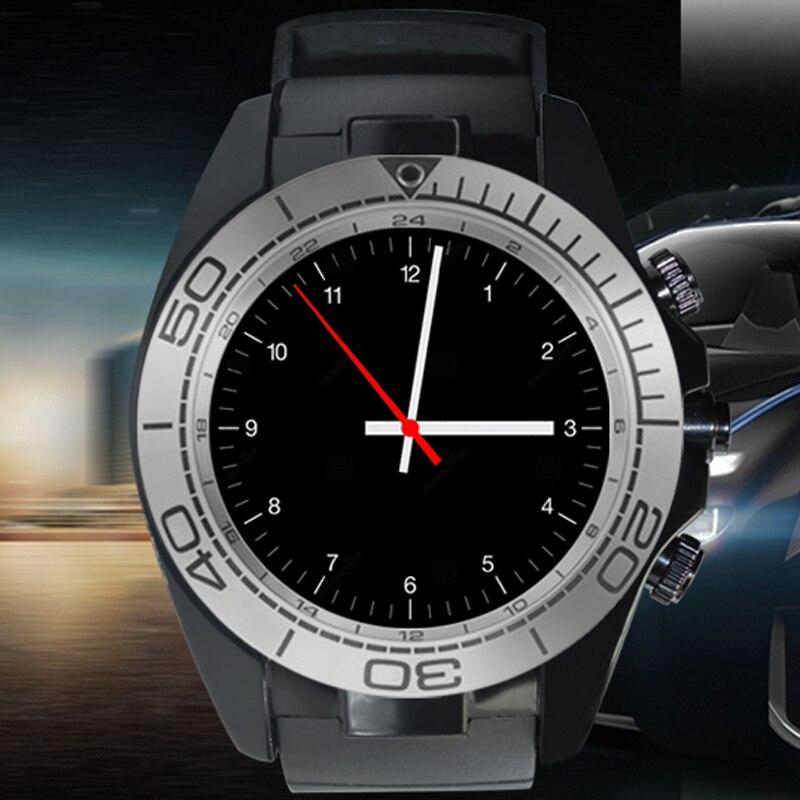 imágenes para Loco sw007 smart watch con ayuda de la cámara tarjeta sim remoto podómetro sleep monitor de cámara anti-perder para ios android teléfono