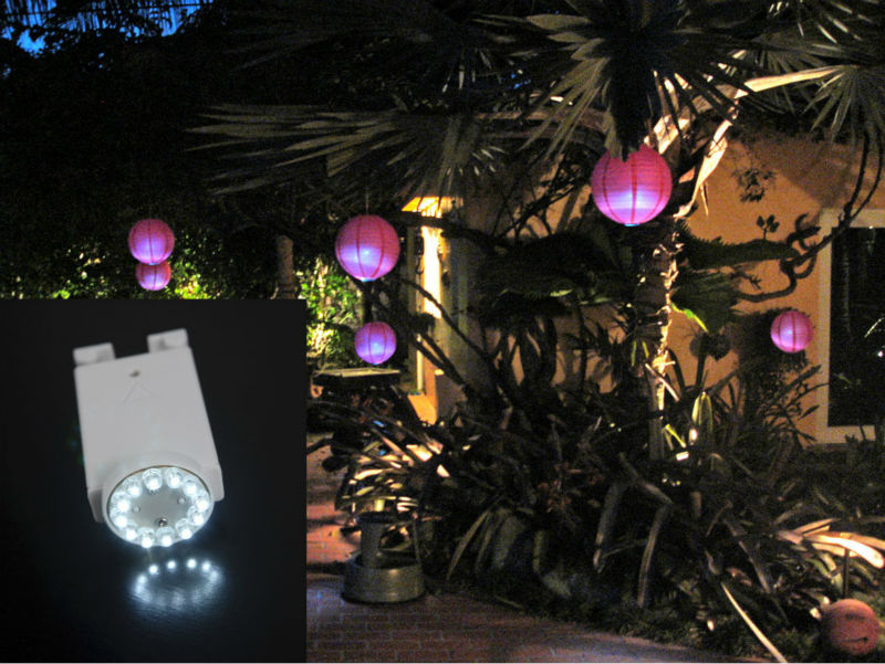Whole Battery Operated Remote Controlled Led Paper Lantern Lights Chinese Decor Light