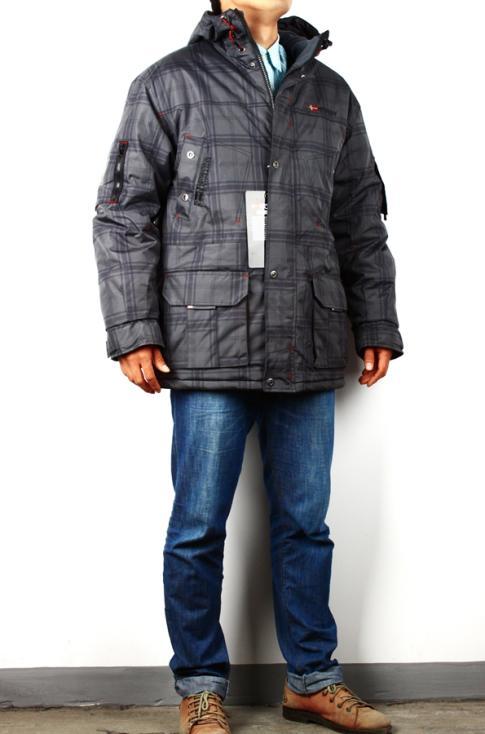 Geographical Norway Atlas warm Men's Winter Jacket Parka