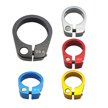 CANSUCC Aluminium Alloy Bicycle Seatpost Clamp 28.6/30mm Mountain Road Bike Quick Release Parts