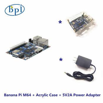 一つの完全なキットバナナパイm64バナナパイボード+非環式ケース+ dc電源 - DISCOUNT ITEM  0% OFF All Category