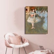 The Star by Edgar Degas Decor Wall Art Canvas Poster and Print Painting Decorative Picture for Living Room Home