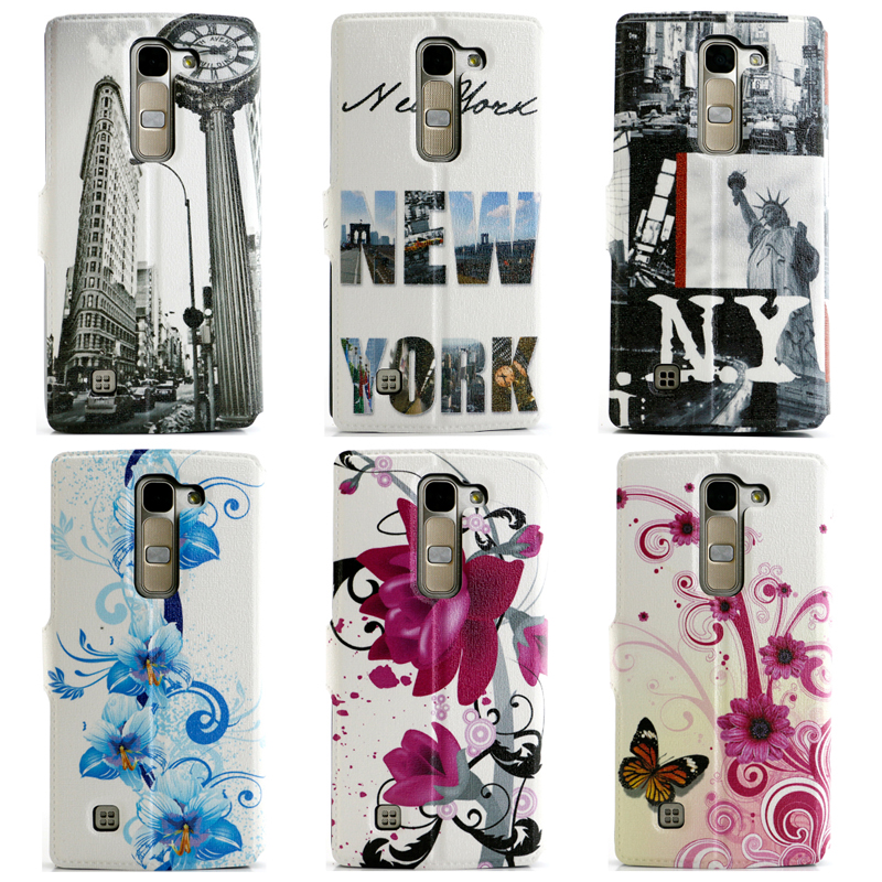 Fashion View Window PU leather Case For LG G4C/G4 mini Case Phone Flip Case for LG G4mini LG G4c H525N 5 inch Stand case