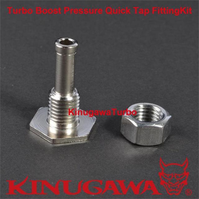 Turbo Boost Pressão Toque Rápido Kit de Montagem/Fonte de Pressão na Mangueira de Silicone