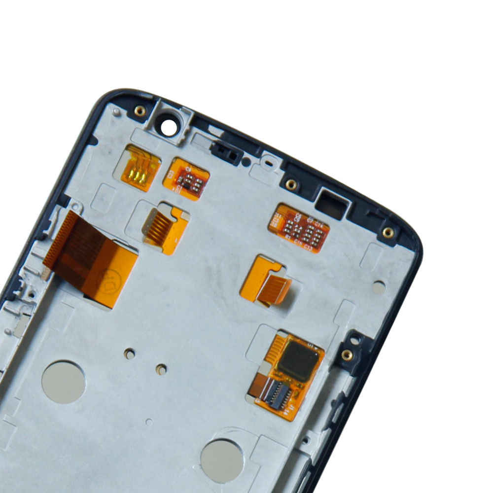 الهاتف المحمول Lcd ل moto رولا moto X اللعب زائد شاشة الكريستال السائل + مجموعة المحولات الرقمية لشاشة تعمل بلمس استبدال أجزاء
