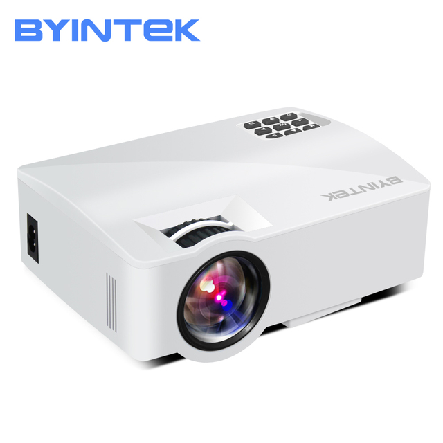 Best Price BYINTEK SKY L5 Mini LED Portable Video Projector Proyector Beamer for Home Theater Support Full HD 1080P (Optional Android 6.0)