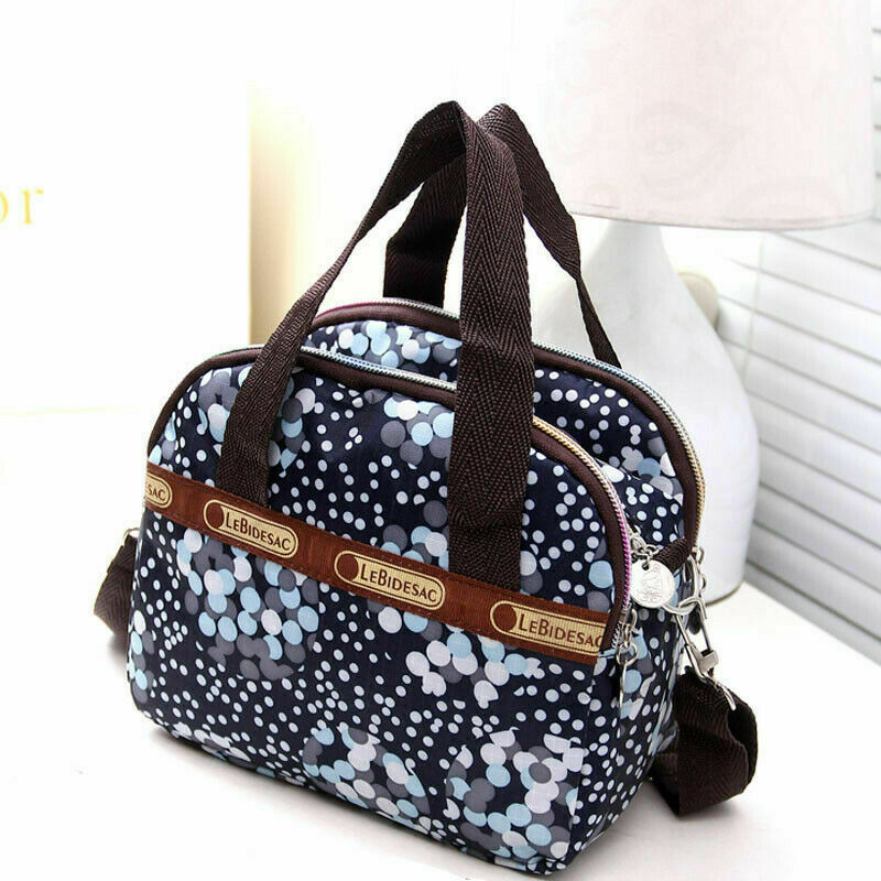 Fashion Women Mini Canvas Floral Purses And Handbags Elegant Ladies Messenger Crossbody Shoulder Bag Tote Cute Satchel