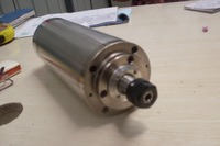 Water Cooled 4kw 220V D100 260mm CNC Spindle Motor For Wood Aluminum Stone Engraving Milling