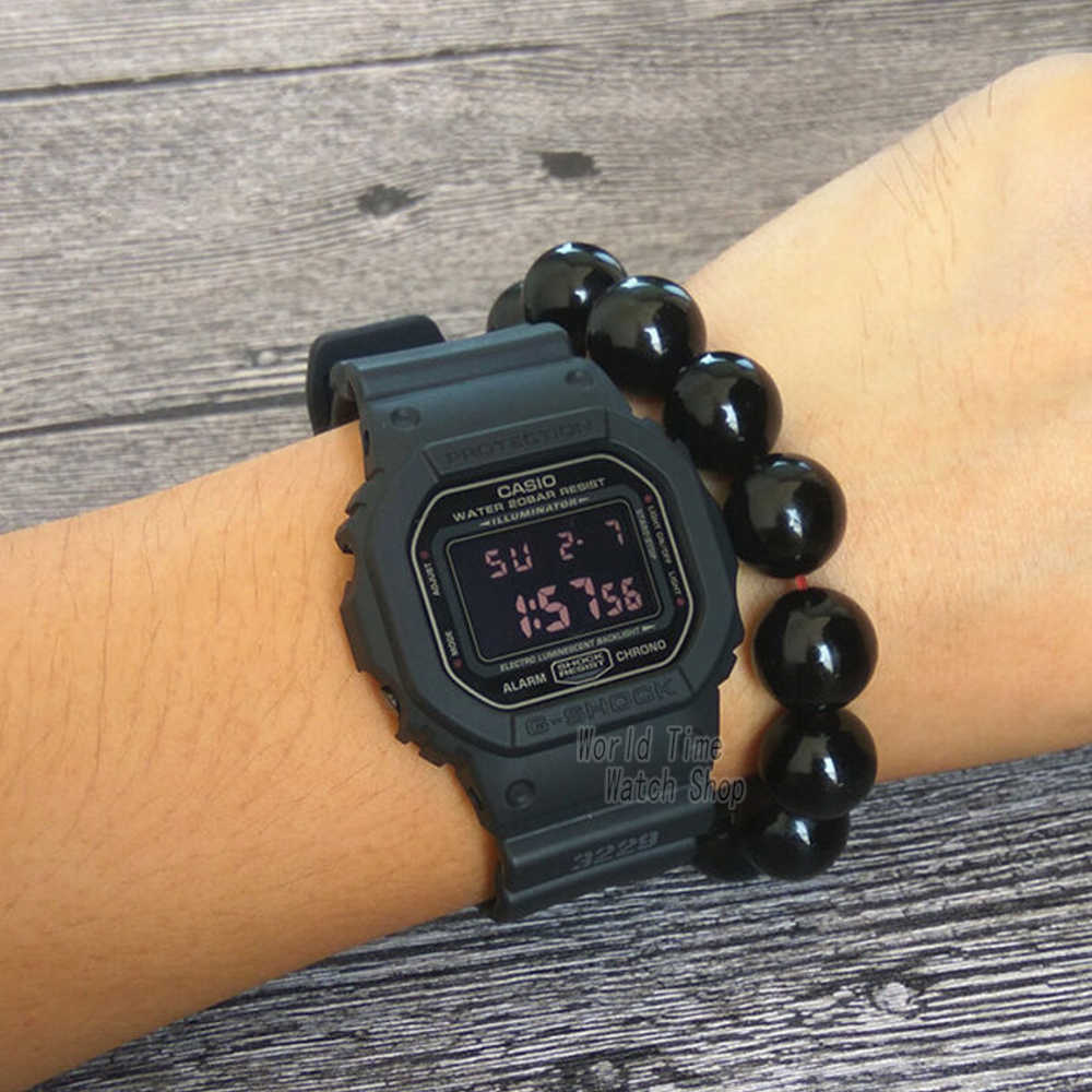 Casio Watch G Shock Men S Quartz Sports Watch Trend Square Dial Waterproof G Shock Watch Dw 5600