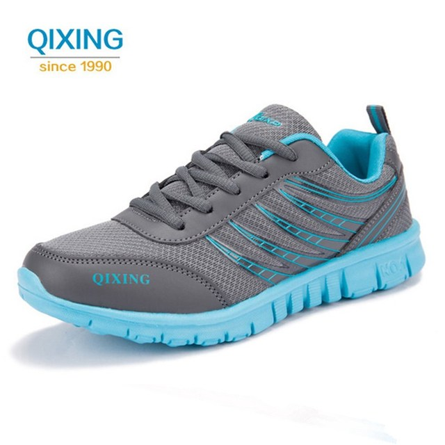 Qixing New Breathable Sneakers Women Running Shoes Outdoor Walking Sport  Shoes Woman Sneakers Zapatillas Deporte Mujer