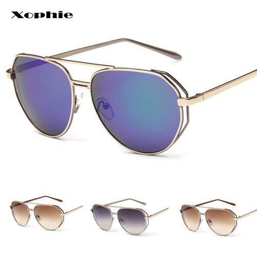 c8a5f70172e27 Retro das mulheres Do Vintage Designer Óculos Shades Óculos Óculos de  Armação de Metal óculos de Sol Olho