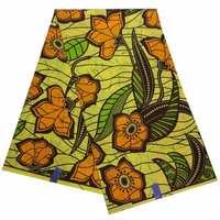 Nigerian sewing materials ankara fabric African real wax print high quality regular wax fabric wholesale 6 yard/lot