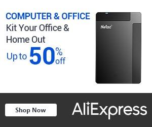 AliExpress Computer & Office banner
