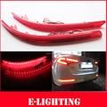 Lente vermelha 30-SMD LED Bumper Refletor Luz Traseira Para 2011 2012 2013 Kia Optima K5