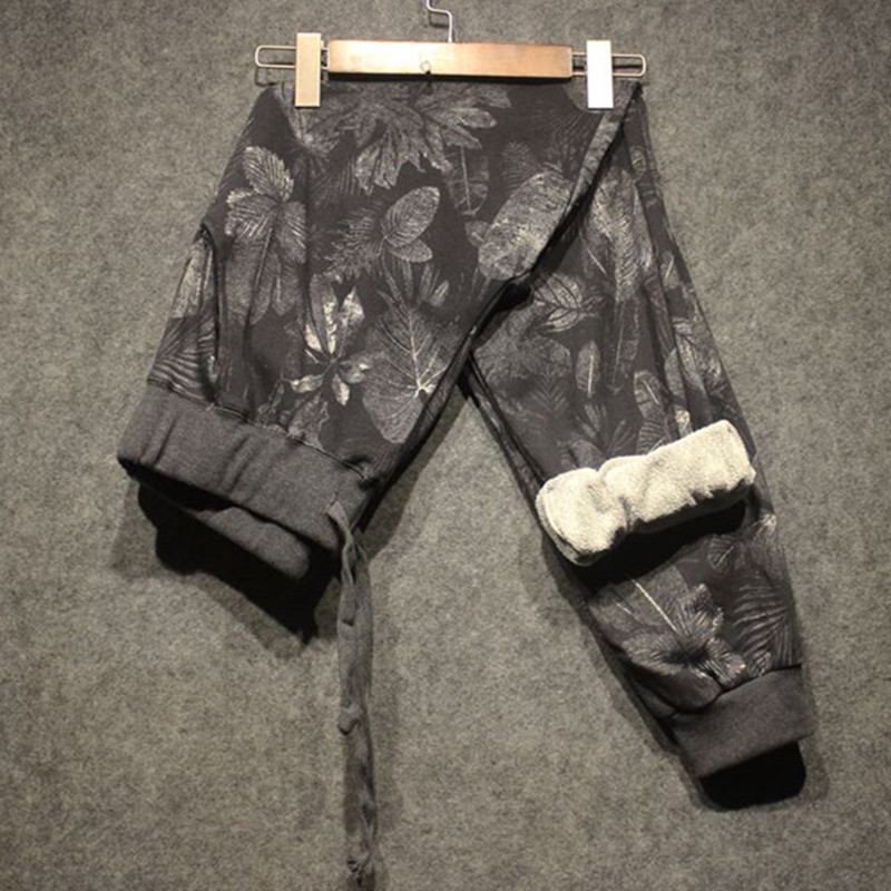 High Quality Womens Winter/Autumn Cotton Printing Gray Camouflage Pants Women Female Sweatpants Casual Camouflage Pants Trousers