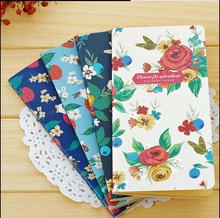 лучшая цена 1pc/lot Lovely Journal Diary Planner Notebook Sweet Retro Garden Flower Series Notebook DIY Diary Fashion Kid Gift Notepads