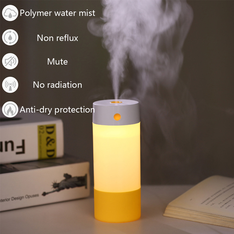 250ML Air Humidifier Aroma Essential Oil Diffuser Aromatherapy USB charging Ultrasonic Mist Maker With 4 Color LED Night light250ML Air Humidifier Aroma Essential Oil Diffuser Aromatherapy USB charging Ultrasonic Mist Maker With 4 Color LED Night light