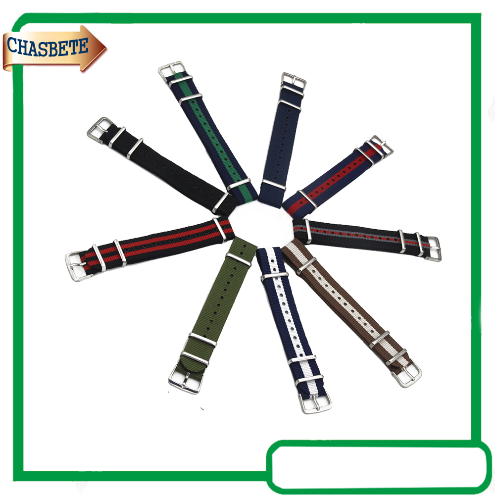 Nylon Fabric Watch Band for Timex Weekender Expedition 18mm 20mm Canvas Strap Wrist Belt Loop Bracelet Black Blue Brown Green 16mm 18mm 20mm full ceramic watchband for timex weekender expedition watch band wrist strap link bracelet upgraded tool pin
