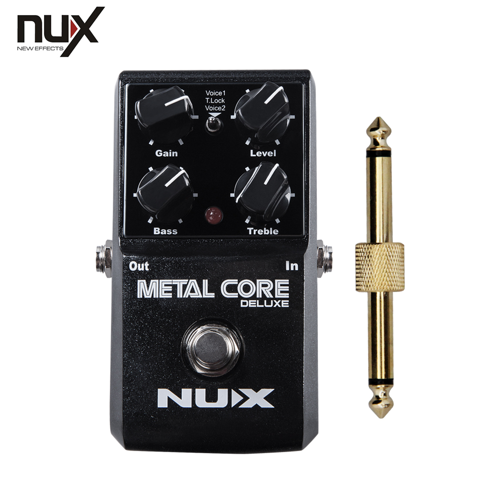 NEW NUX Effect Pedal , Core series /Metal Core METAL CORE the 'must have pedal +1 pc pedal connector зонты