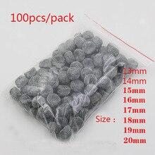 500pcs/lot Smoking pipe net multi sizes 15/16/17/18/19mm smoking accessories