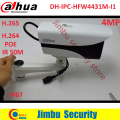 2016 Newest  Dahua DH-IPC-HFW4431M-I1 4MP H.265  Full HD Network IR Mini Camera POE  cctv network bullet with bracket