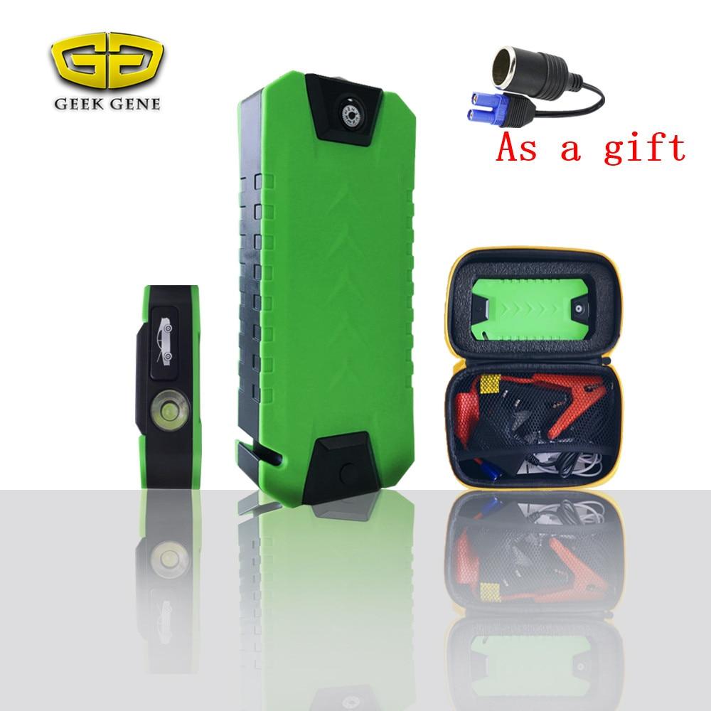 301g <font><b>Portable</b></font> High capacity Car Battery Charger Starting Car Jump Starter Booster <font><b>Power</b></font> Bank 12V Auto Best quality Light-weight