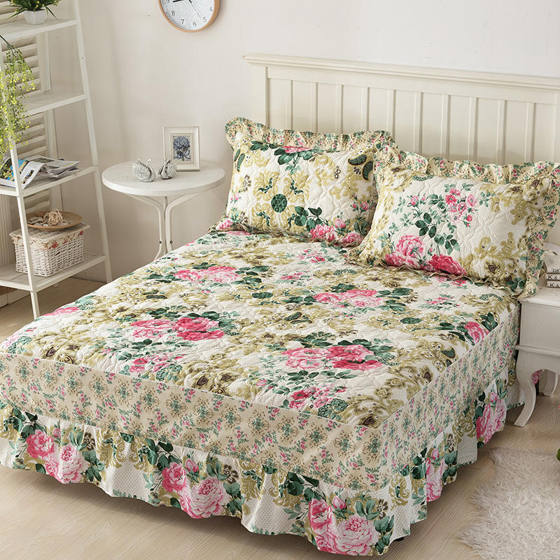 Winter Thickening Hot Sale Home Textiles Bed Skirt Elegant