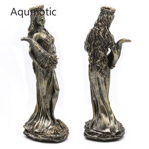 Aqumotic bóg bogactwa i pieniądze posąg Art greckiego boga moc zarządzania urodził się najlepsze życzenia fiskalnej kosztowności bogini sklep prezent