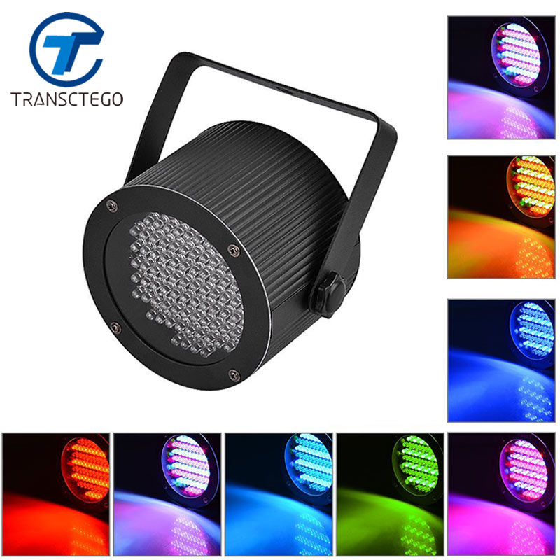 TRANSCTEGO dj Light Stage Light LED RGB Party Lamp moving head DMX Lighting Laser Projector Par disco Show Pub KTV controller 3w rgb led dj stage light auto rotating projector disco club ball lamp party show dmx lighting effect battery powered