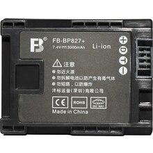 BP-827 BP827 827 lithium batteries BP819 BP808 Digital camera battery For Canon HG20 HG21 FS10 FS11 FS100 FS200 FS21