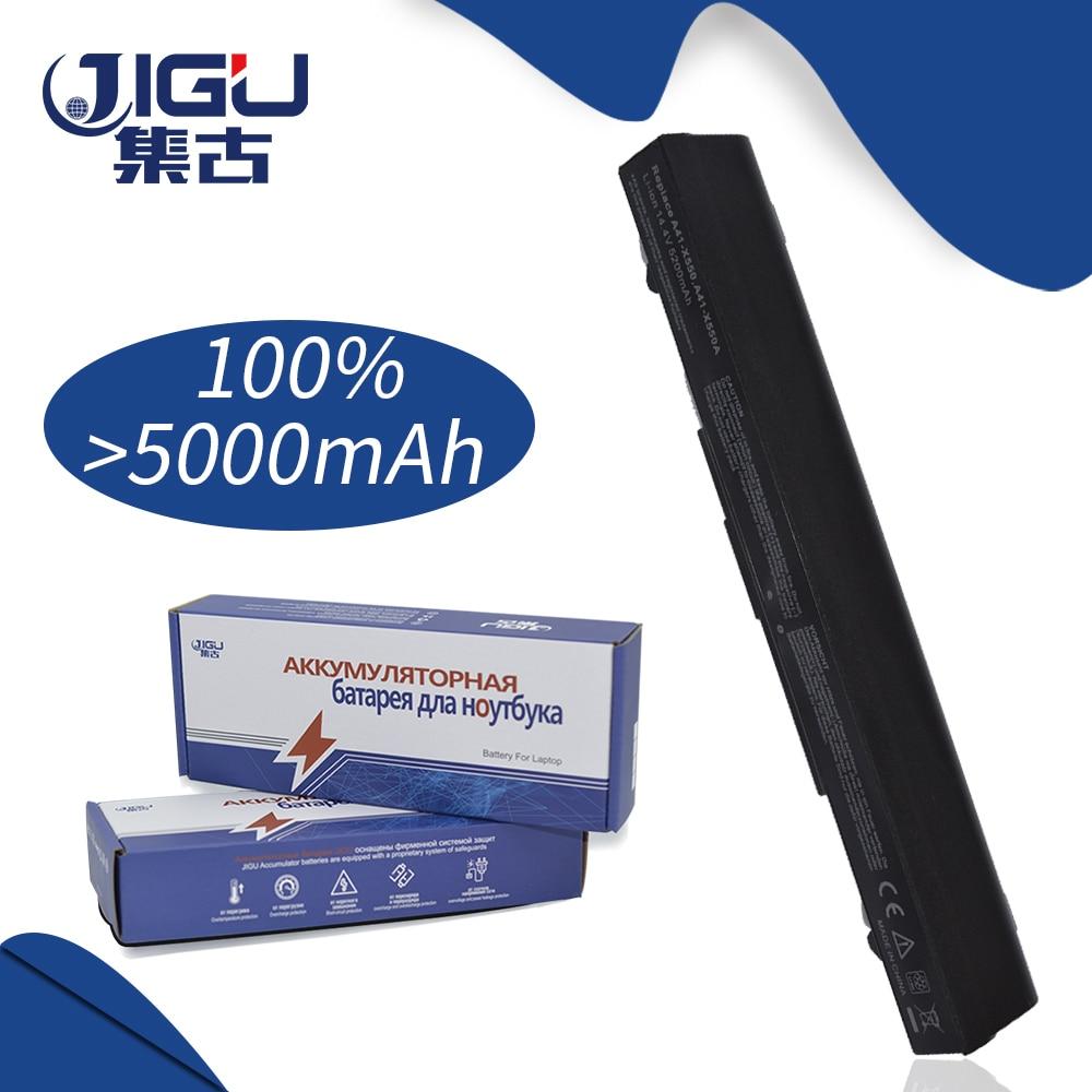 JIGU Laptop Battery For Asus A450VE A550 A550C F450 F552 K450 K550 F550 R510 R409 P550 P450 X450 X550 X550C X550CA X550CL X550CC все цены