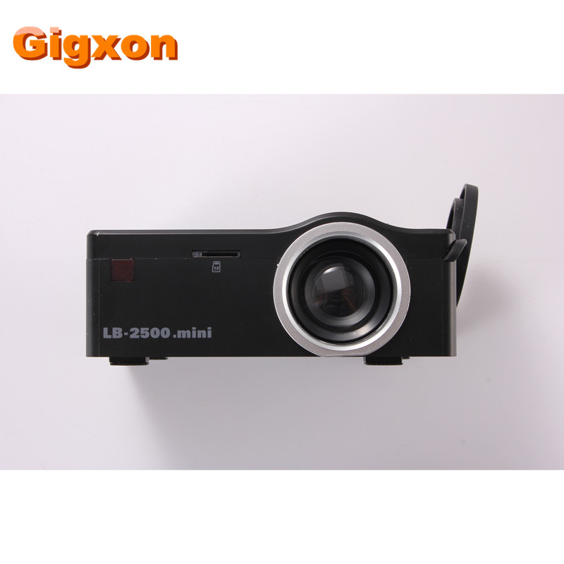 Gigxon G18 2016 Best Christmas Gift Mini Projector with HDMI TF Card USB CVBS LED proyector