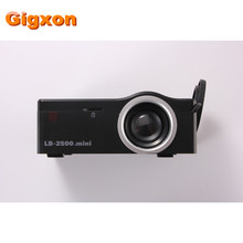 Gigxon – G18 2016 Best Gift Mini Projector with HDMI TF Card USB CVBS LED proyector for Home theater Cinema Pico