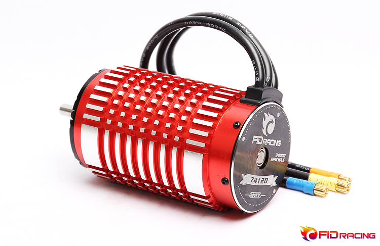 FID Brushless Motor 74120 For 1/5 Dragon Hammer Voltz Can Fit Losi 5ive-T Losi Dbxl To Electric Version