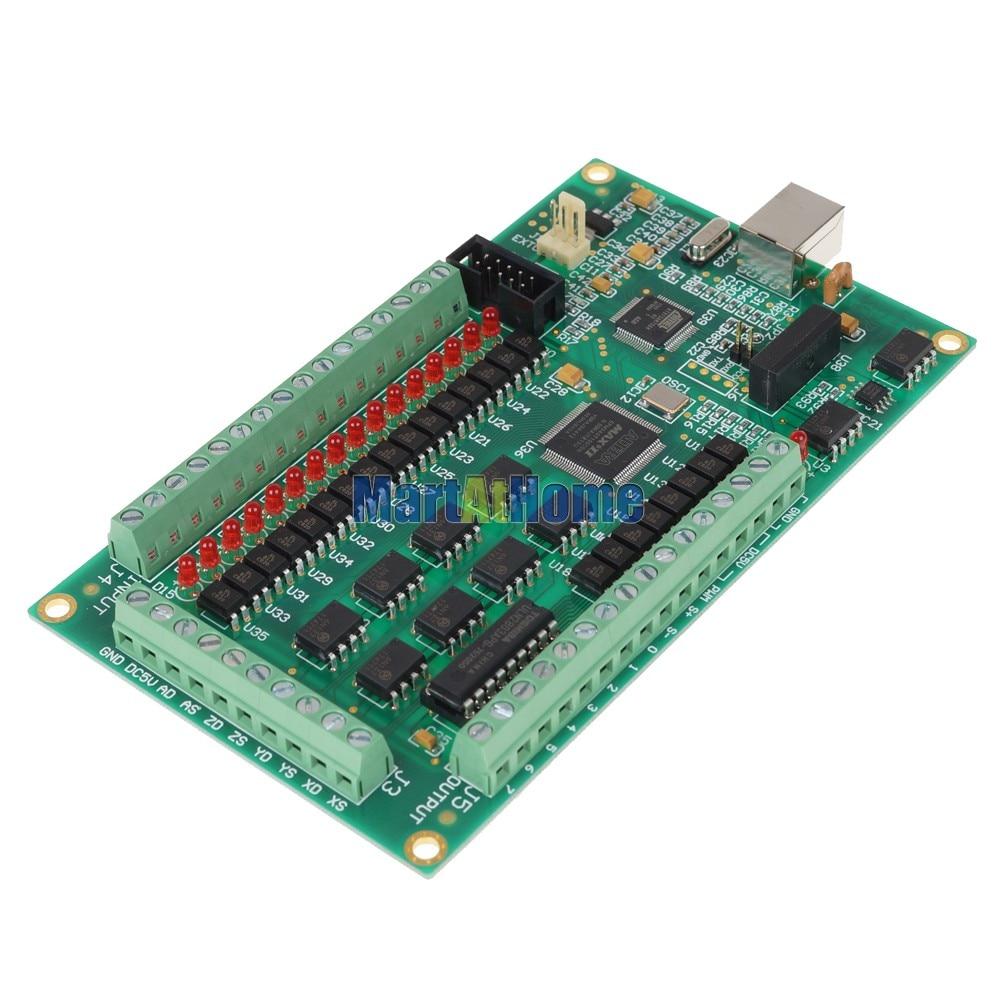 Argedo DHL USB 4 оси Mach3 плата ЧПУ интерфейс распределительной коробки адаптер карты 200 кГц Поддержка Windows 7/8# SM393@ DF
