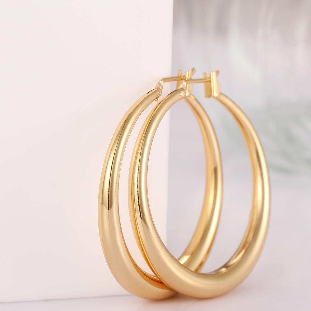 FANALA Hoop Earrings Women Fashion Jewelry Earrings for Women High Quality Round Zircon Earring Women oorbellen