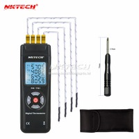 Digital Thermometer Temperature Meter Handheld 4 Channel Thermometer K Type Thermocouple Sensor For Industury Instrument Nk tk1